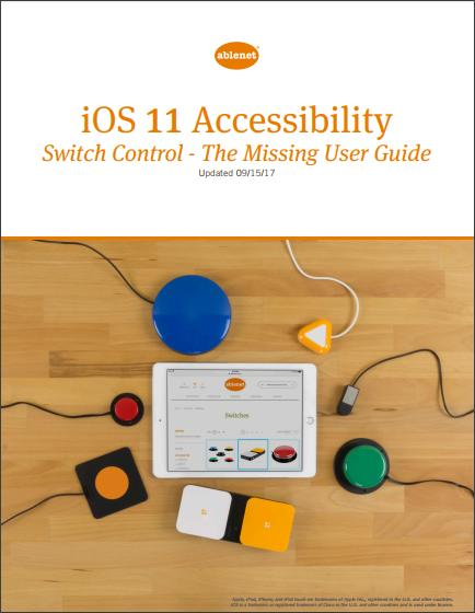 ios 11 accessibility switch control the missing user