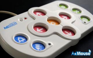 Imagen del ratón de botones AdMouse