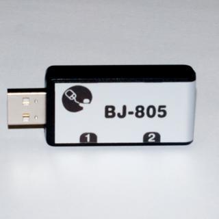 Imagen de la caja de conexiones para dos pulsadores