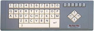 Imagen del teclado BigKeys Plus