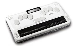 Imagen del anotador Braille Sense PLUS