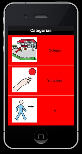 Imagen del comunicador CPA para iPhone/iPod