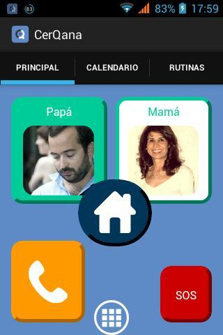 Imagen de la interfaz de CerQana