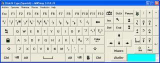 Imagen del Teclado Virtual Click-N-Type