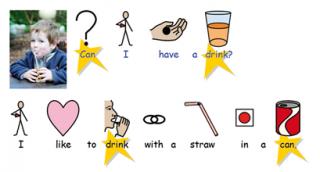 Imagen del comunicador Communicate SymWriter