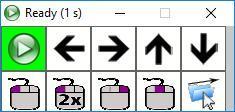 Imagen de la ventana de funciones de CrossCursor