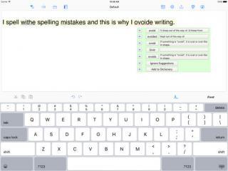 Ghotit Real Writer interface image
