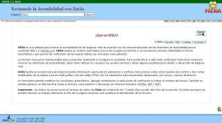 Imagen de la página web de Hera