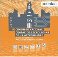 Logotipo del III Congreso Nacional CENTAC