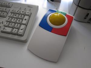 Imagen del ratón de bola KidTrack