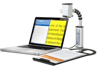 Imagen de la lupa electrónica MagniLink Student Addition