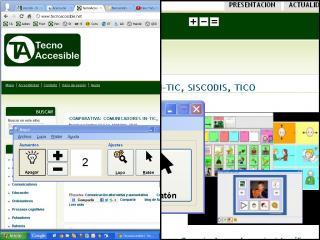 Imagen del magnificador de pantalla MaGUI
