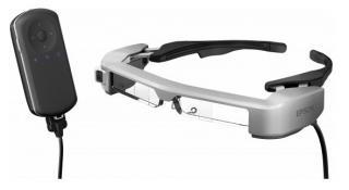 Imagen de las gafas inteligentes Moverio BT-350
