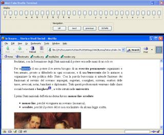 Imagen de la página web de MozBraille