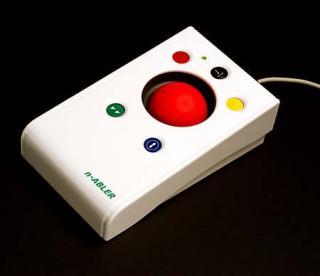 Imagen del ratón de bola n-Abler