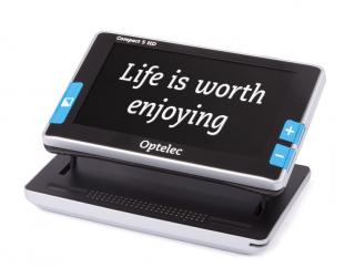 Imagen de la lupa electrónica portátil Compact 5 HD