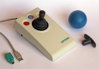 Imagen del ratón de bola Optima