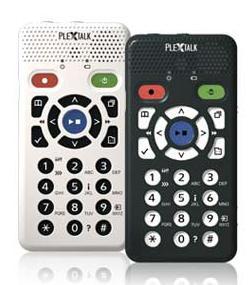 Imagen del grabador/reproductor Plextalk Pocket LTP1