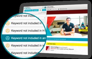 Imagen de la interfaz de Web Governance Suite