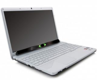 Imagen del EyeTech TM4 Mini en un ordenador portátil