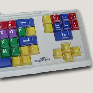 Imagen del teclado FunKids con cobertor