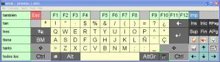 Imagen del teclado WiViK