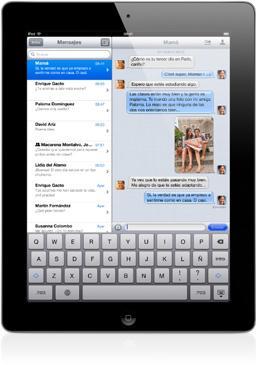 Imagen de la tableta iPad 3