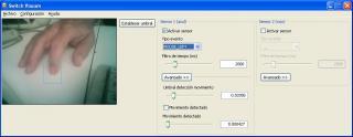 Imagen de la ventana de configuración de sViacam