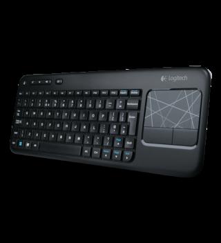 Imagen del teclado Logitech Wireless Touch Keyboard K400