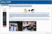 Beta VZW website image