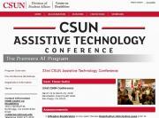 32nd CSUN Conference website image