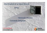 Banner de la Jornada del Día Mundial de la Salud Mental 2014