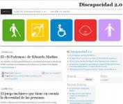 Imagen de la página web Discapacidad 2.0