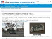 Imagen de la página web de EOEP Específico de Discapacidad Visual CM-ONCE