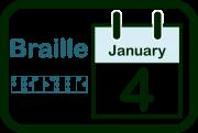 World Braille Day's icon