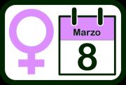 Logotipo del Día Internacional de la Mujer