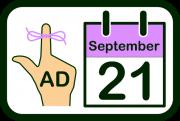 World Alzheimer's Day icon