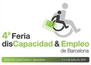 Logotipo de la 4ª Feria disCapacidad & Empleo