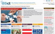 G3ict website image