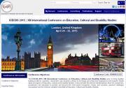 Imagen de la página web de ICECDS 2015