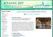 ICT4AWE 2017 website