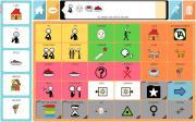 Imagen de la interfaz del comunicador Jocomunico