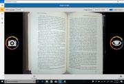 KNFB Reader interface image