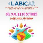 Cartel del 5º Laboratorio de Innovación Ciudadana (LABICAR)
