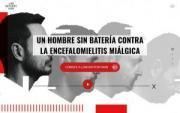 Imagen de la página web de Low Battery Man