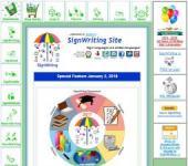 SignWriting website image