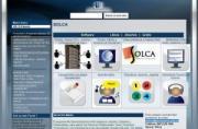Imagen de la página principal de SOLCA