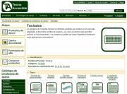 Imagen de la interfaz de TecnoAccesible