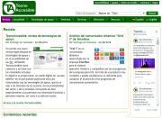 Imagen de la nueva página principal de TecnoAccesible