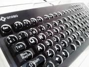 Imagen del teclado Titán con canalizador dactilar